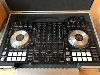 Pioneer DDJSX Midi Controller with flight case