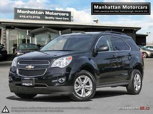 2014 CHEVROLET EQUINOX 2LT - 1OWNER WARRANTY LEATHER ROOF PHONE