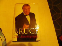 signed copoy of Bruce the autobiography