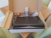 Sky HD+ Box with handset and new cables