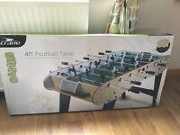 4ft football table.