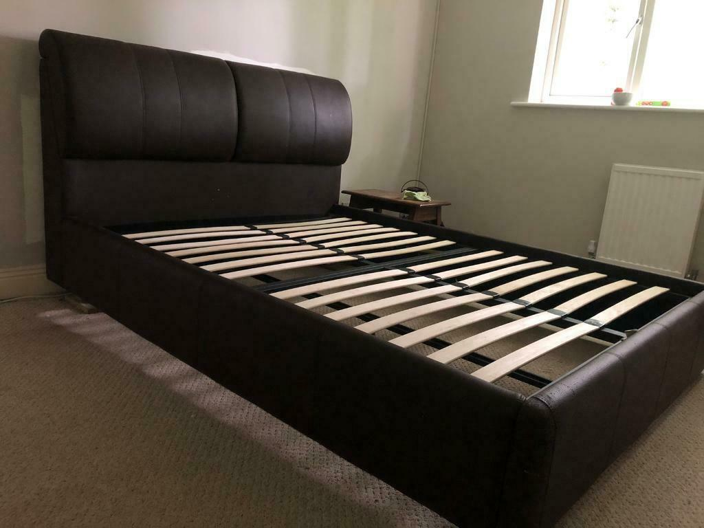 Fabulous King Size Ottoman Bed Frame In Farnborough Hampshire Gumtree Pdpeps Interior Chair Design Pdpepsorg