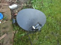 Job lots 3 Satellite Dish Antenna SKY with 1 LNB BUYER COLLECT N22