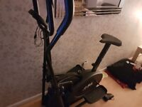 Excellent condition cross trainer selling as joined the gym