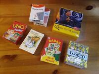 Selection of Card Games, Puzzles and Trivia
