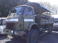 French trm 4000 4x4 army truck