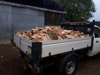 SPLIT HARDWOOD SEASONED LOGS