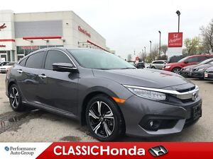 2017 Honda Civic Sedan TOURING | NAVI | LEATHER | SUNROOF | REAR