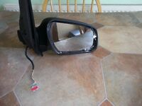 Ford Fiesta Mk 6 Heated Electric OS Drivers Side Wing Mirror
