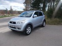 2006 56 DAIHATSU TERIOUS 1.5 SX 4X4 5 DOOR SUV CALL 07791629657