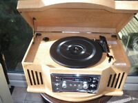 Retro-style Record-player/CD player/Radio (Bush)