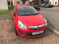 2012 corsa for sale full mot and service history from Vauxhall I have been the solo owner of car