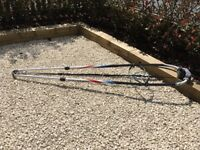 Amex Free windsurf boom (150-200cm) plus harness lines, boom bra and uphaul