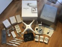 Dji Phantom 4 Drone, extra batteries, controller & Accessories - Excellent condition