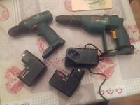 2 cordless drills good condition