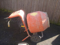 Cement Mixer - Bell 150 with Transformer Box