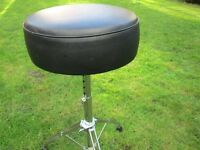 Drums - Drum Stool - Premier 3000 Series - Massive Deep Seat - Excellent