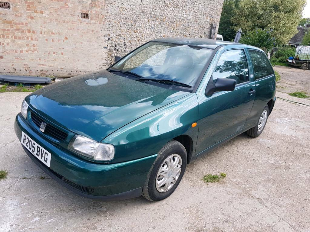 seat ibiza 1 4 1998 in lakenheath suffolk gumtree. Black Bedroom Furniture Sets. Home Design Ideas
