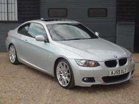 BMW 3 Series (silver) 2009