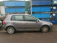 2004 VOLKSWAGEN GOLF 2.0 GT TDI DIESEL BREAKING SPARES 6 SPEED GEAR BOX 5 DOOR HATCH GREY MK5
