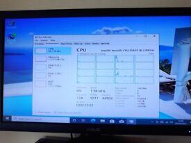 32GB ram HP Z600 workstation twin Xeon E5630 16 logical processors
