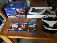 PlayStation vr with aim controller and games