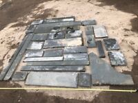 Large Quantity Off Cut Slate - More Than Pictures Show - Most 3cm Thick - Good For Projects