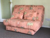 4 foot width Sofa Bed in Excellent condition, Very quick and easy to put down