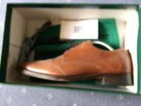 Samuel Windsor brown shoes