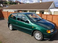 Volkswagen Polo 1999 1.4 CL 79,000 miles genuine, very reliable, MOT until jan 18