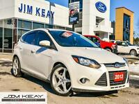 2012 Ford Focus TITANIUM HATCH W/LEATHER, ROOF & NAV