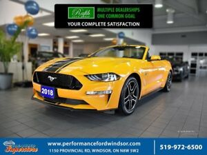 2018 Ford Mustang GT Premium ***CAP UNIT, safe & smart package**