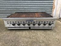 CHARBROILER GRILL - RADICAL GAS - 8 BURNERS - BAKERS PRIDE - VAT INCLUDED