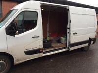 Van heading to North of Scotland.
