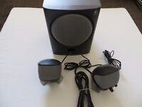 Logitech X-220 PC Speakers Wall mountable