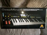 Behringer Deepmind 6 analog synthesizer synth, boxed as new