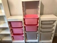 Trofast storage - Ikea - set of 3