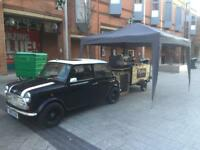Coffee trailer events ,wedding film set . Hot drinks, tea hire