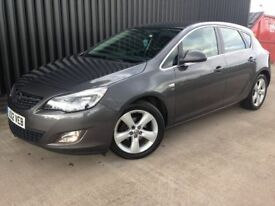 2012 Vauxhall Astra 1.6 i VVT 16v SRi 5dr Low Mileage, 12 Months MOT , 1 Month Warranty May PX