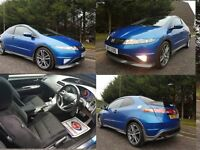 JUNE 2007 HONDA CIVIC 1.8I-VTEC TYPE S GT AUTOMATIC EXCELLENT CONDITION THOUGHOUT GREAT SPECIFCATION