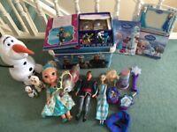 Bundle of Frozen toys