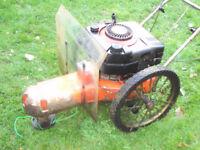 DR strimmer - trimmer mower - rough cut 2 wheeled strimmer