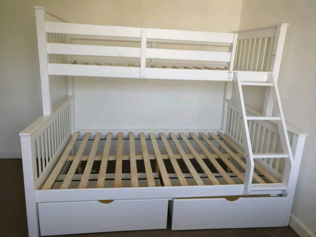 Bunk bed frame