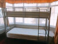 Brand Spanking New Single Bunk Bed with Matresses