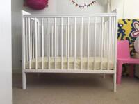 Baby Cot with mattress 50x100cm
