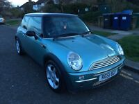 MINI COOPER HATCH 1.6 ENGINE 3DR (not golf polo or Ford Focus or fiesta)