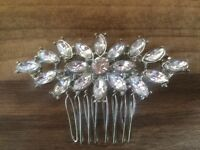 New Vintage Hollywood Wedding Hair Comb