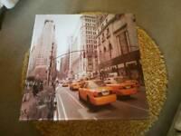 New York Glass Top Coffee Table