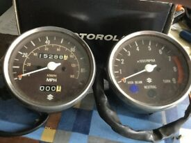Suzuki ts250 clocks