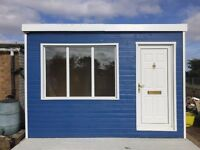 Garden Room Shed Office 12x8ft, choice of colour